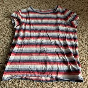 ❕NWOT American Eagle Striped Baby Tee | S-M.